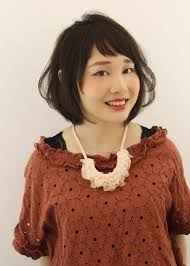 前髪顔周りで印象が変わる髪型2017最新髪型 宇崎加奈