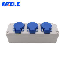 <b>IP54 Waterproof Socket Box</b> With Wire Connector Multifunctional ...