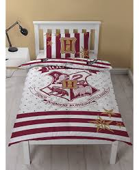 harry potter muggles single duvet cover and pillowcase set bedroom
