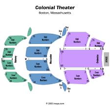 Emerson Colonial Theatre Boston Tickets Schedule