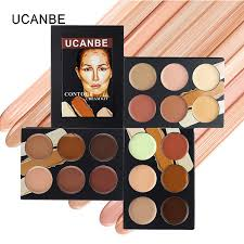 professional ucanbe contour cream kit 6 color face concealer palette makeup set brighten contour natural cover vire