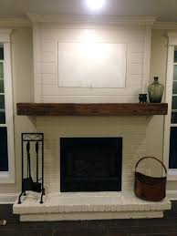 wood mantel for fireplace painted brick wood mantel and minus the hid a wood fireplace mantel wood mantel for fireplace