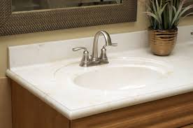 bathroom countertops cultured marble integral bowl countertop
