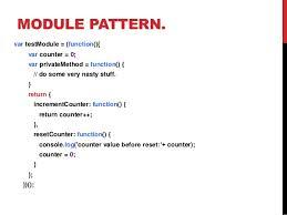 Javascript Patterns Extraordinary Javascript Design Patterns