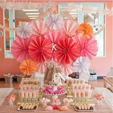 beautiful cheap house birthday party decoration paper decoration