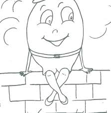 humpty dumpty coloring pages pictures to color nursery rhyme coloring page kids pages printable coloring pages