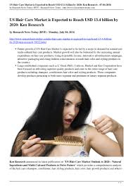 Hair Care Services Industry Profile