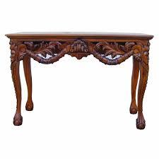 mahogany hall table. Chippendale Console Table Mahogany Hall