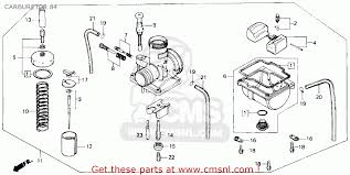 honda crr e usa carburetor schematic partsfiche carburetor 84 schematic
