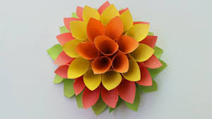 Paper Origami Flower Making How To Make Paper Origami Flowers Paper Flowers For Beginners