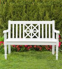 legacy diamond eucalyptus outdoor bench