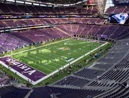 Us Bank Vikings Seating Chart U S Bank Stadium Section 349 Seat Views Seatgeek