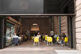 Good spot for pourover, although you may have to fight for a table. Columbia Pulitzer Hall Joe Coffee Company