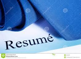 Resume Word Stock Image Image 25565961