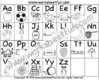In this section we have collected coloring that help kids master the alphabet they will help to remember the alphabet, numbers, and account on the associative level. Alphabet Coloring Free Printable Worksheets Worksheetfun