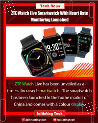 ZTE Watch Live Smartwatch Launched ...