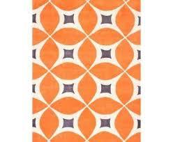 elegant orange area rug regarding 6 x 9 rugs the home depot