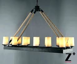 rustic candle chandelier real candle chandelier candle style chandelier real lighting black chandeliers brown rope home