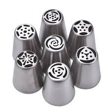 Cupcake Kitchen Decor Sets 7 Russian Piping Nozzle Tips B Itacakes Part 1