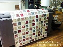 How to Make an Easy Quilt! Â« The DIY Dish & Here are a few more photos for inspiration! Adamdwight.com