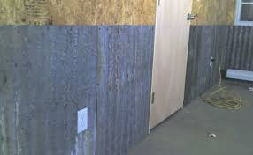 interior corrugated metal garage walls iimajackrus