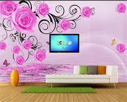 Beibehang Custom Home Woonkamer Achtergrond Decor 3d Behang Fantasy