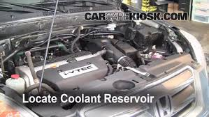 coolant level check 2002 2006 cr v 2006 honda cr v se 2 4l 4 cyl 2002 Honda CR-V Engine Diagram 2006 honda cr v se 2 4l 4 cyl coolant (antifreeze) flush