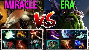 miracle lone druid vs era tiny dota2 full item epic non stop