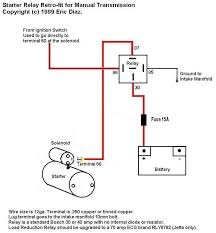starter relay wiring diagram bosch starter relay wiring diagram ignition wiring diagram chevy 350 at Starter Wiring Diagram