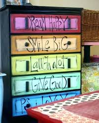 colorful painted furniture. Chalk Colorful Painted Furniture