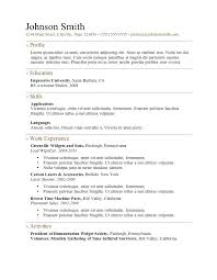 Free Resume Templates For Wordpad Best Of Free Resume Template Templates For Wordpad Mklaw