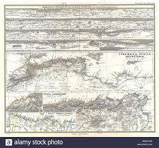 English This Is Karl Von Spruners 1865 Map Of Cyrenaica