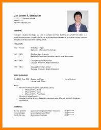 Resume Sample Objectives Jmckell Com