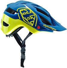 Troy Lee Designs Mountain Bike Helmet Troy Lee Designs Air Gloves Troy Lee Designs A1 Drone Blue