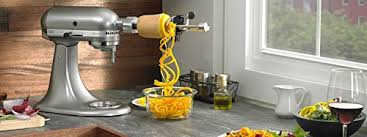 kitchenaid spiralizer attachment. kitchenaid ksm1apc spiralizer attachment kitchenaid i