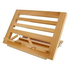 image is loading book stand wood holder wooden folding recipe cookbook