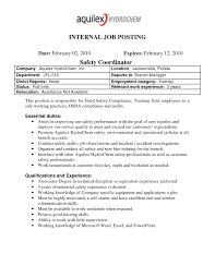 32 Sample Cover Letter For Job Posting Cover Letter For Online