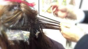 Dye Hair最新ヘアカラーハイライトメッシュは難しいでもこの