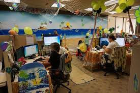 office cubicle decorating contest. Customer Service Week 2015--Cubicle Decorating Contest - SuiteAmerica El  Dorado Hills, Office Cubicle Decorating Contest