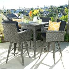 heights 5 piece bar height dining set reviews garden oasis harrison cover