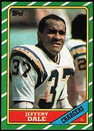 Amazon.com: Football NFL 1986 Topps #240 Jeffery Dale NM-MT ...