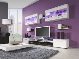 Purple Living Room Small Living Room Mustnt Be Too Busy I Like The Use Of The Accent