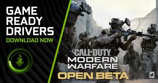 Game Ready Driver For The Call of Duty: Modern Warfare PC Open ...