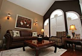 wall colors living room. Living Room Colors With Dark Brown Furniture - Interior Design Wall