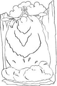 Best Ideas Of Waterfall 7 Nature Printable Coloring Pages With