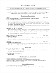 Unique Chronological Resume Personel Profile