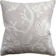 cream decorative pillows. Exellent Decorative Ryan Studio Alladale Embroidery Cream Decorative Pillow Intended Pillows F