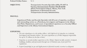 Security Guard Resume Example Free Resume Examples