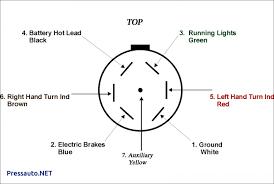 wiring diagram for 7 pin plug wiring library diagram a4 6 Hole Trailer Wiring Diagram at 6 Flat Trailer Wiring Diagram