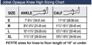 Jobst Opaque Knee Highs 15 20 Mmhg